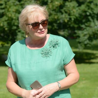 Birštono vasaros menų akademijos globėja Birštono savivaldybės merė Nijolė Dirginčienė
