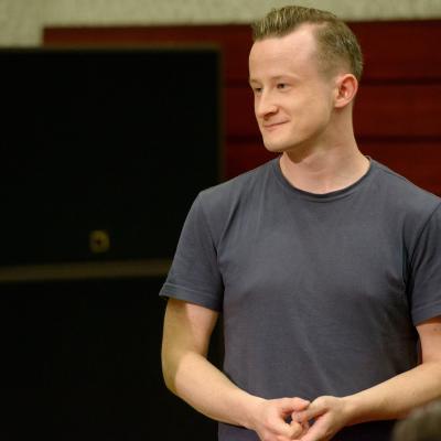 Pianistas koncertmeisteris  Justas Čeponis