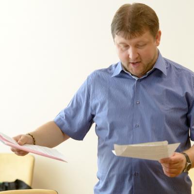 Mažoji BVMA. Profesorius Robertas Beinaris
