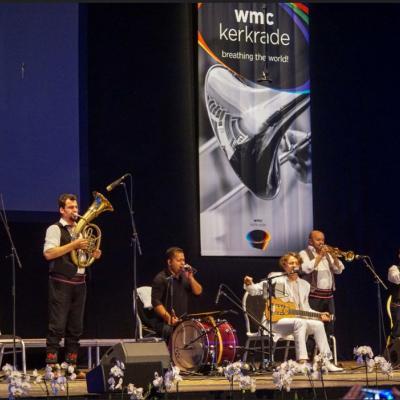 Nuotr. Šiemet WMC festivalyje Kerkradėje koncertavo garsus Balkanų kompozitorius ir muzikantas Goranas Bregovičius su vestuvių ir laidotuvių orkestru