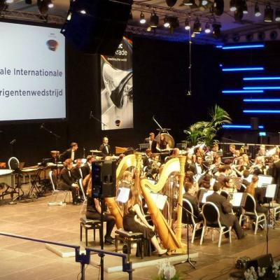 Nuotr. WMC festivalyje vyko pasaulio jaunųjų pučiamųjų orkestrų dirigentų konkurso finalas.