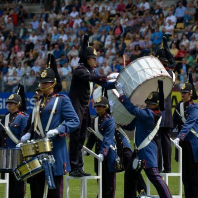 šou orkestrų aukščiausioje kategorijoje (World Division) surinko orkestras Pasveerkorps iš Leeuwardeno miesto (Nyderlandai).
