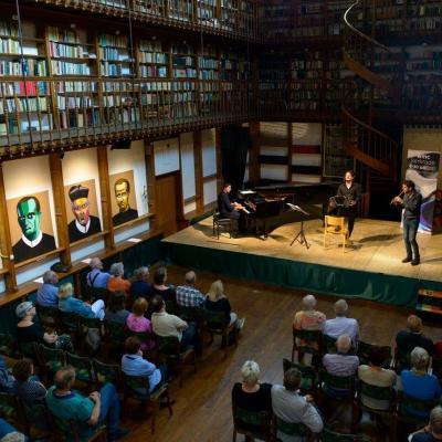 Nuotr. Antroje koncerto dalyje koncertuoja Argentinos tango trio.