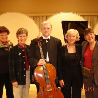 Armonas - Uss Duo po koncerto Malmėje (Švedija) 2006 m.