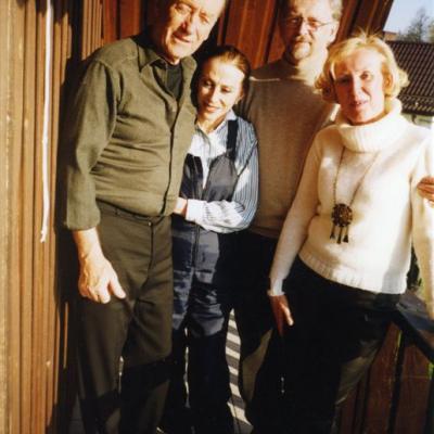 Su kompozitoriumi R.Ščedrinu ir Maja Pliseckaja