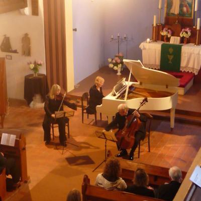 Armonų trio Thomo Manno festivalyje. Nida, 2012m.