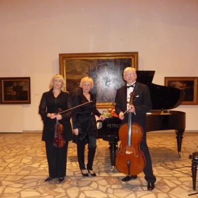 Armonų trio. 2013-12-01, Vilnius. Po koncerto