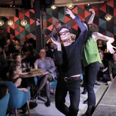 J. Kulikausko nakties koncerto akimirka