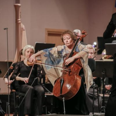 Karine Georgian ir Liepojos simfoninis orkestras