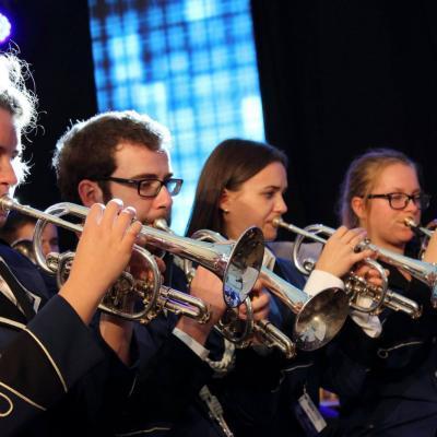 3.EuroMusiktageBosel-2017.Orkestro SKLEPUCINI kornetininkaiVokietijoje