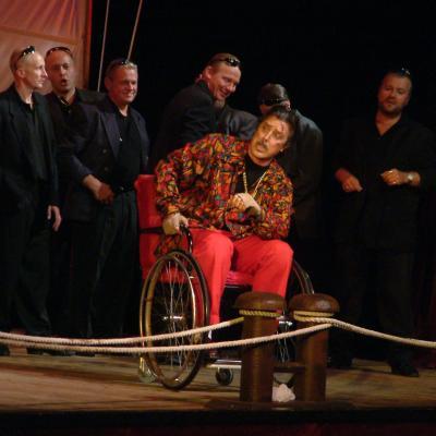 """G. Verdi """"Rigoletas"""" Klaipėdoje"""
