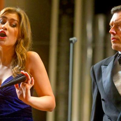 Filharmonijos Didžiojoje salėje Solisto prof. Vytauto Juozapaičio 50-mečiui paminėti skirtas koncertas. Atlikėjai: LIETUVOS KAMERINIS ORKESTRAS Solistai: VYTAUTAS JUOZAPAITIS (baritonas) ASTA KRIKŠČIŪNAITĖ (sopranas) IEVA JUOZAPAITYTĖ (sopranas) ALGIRDAS BAGDONAVIČIUS (kontratenoras) TOMAS PAVILIONIS (tenoras) VLADIMIRAS PRUDNIKOVAS (bosas) PETRAS GENIUŠAS (fortepijonas) Dirigentas MODESTAS BARKAUSKAS, foto-D.Matvejevas©.jpg