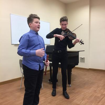 Muzikos olimpiada. 2017-12-02, Klaipėda