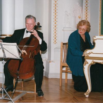 Su Veronika Vitaite 2000 m.