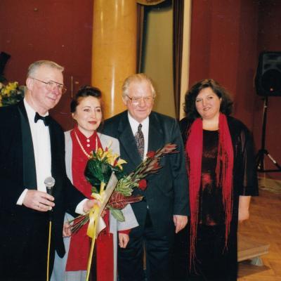 Su R. Žigaičiu ir A. Žigaityte