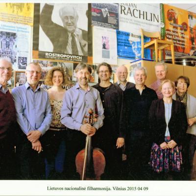 Lietuvos nacionalinė filharmonija 2015 m.