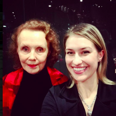 With the great Finish composer Kaija Saariaho