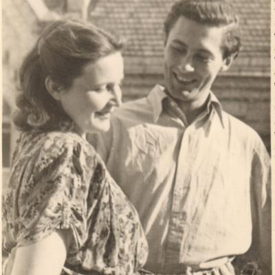 Valė ir Algis Žiūraičiai, Vilnius, Stalino pr. 35-6, 1953 06 10
