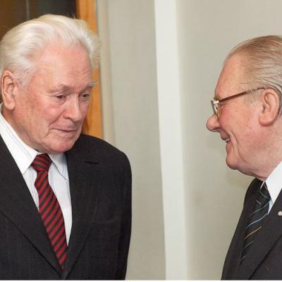 Vaclovas Paketūras ir Rimvydas Žigaitis.  2008 metai