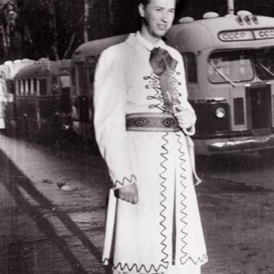 Maskvos festivalyje 1957 metais