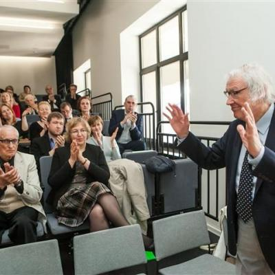 Juozui Domarkui suteiktas LMS garbės nario vardas