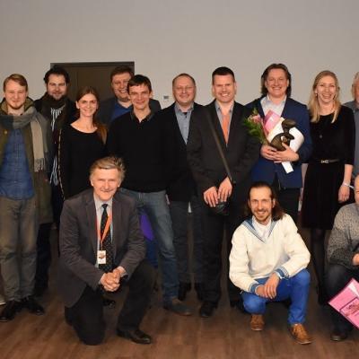 Čempionatui pasibaigus su  XVIII-ojo Lietuvos pučiamųjų instrumentų orkestrų čempionato vadovais, žiuri vertinimo komisijos nariais ir organizatoriais.