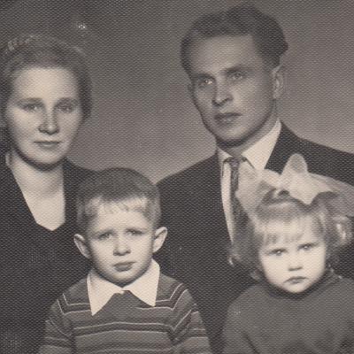 Globotinės A. Mackevičiūtės šeima