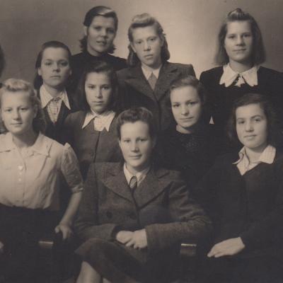 Kauno mergaičių vaikų namai 1945-1948