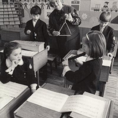 Pamoka su K. Orfo muzikos instrumentais