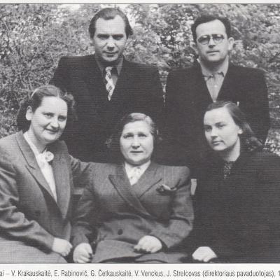 MKČMM teorinis skyrius 1953 m.
