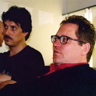 Su kolega Vytautu Juozapaičiu