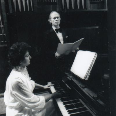 Prieš solinį koncertą Maskvos konservatorijos Čaikovskio Didžiojoje salėje