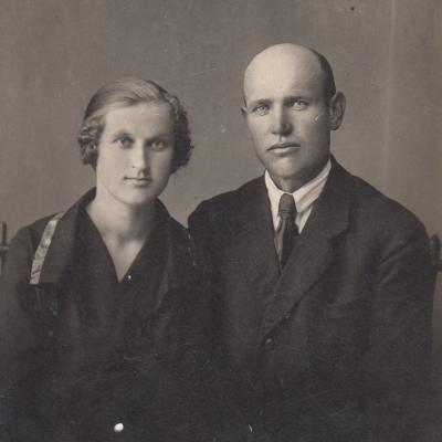 Tėvai Jadvyga Kuprienė ir Vincentas Kuprys