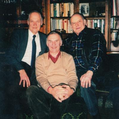 Trys bosai: V. Kuprys, Mati Palm (Estija), Teo Maiste (Estija)