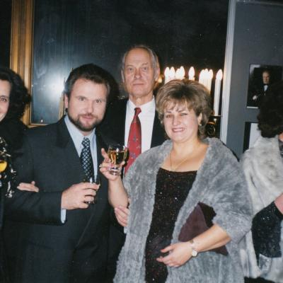 Operos teatre. M. Diamandidi, S. Larinas, V. Kuprys, L. Deksnytė, D. Juodikaitytė