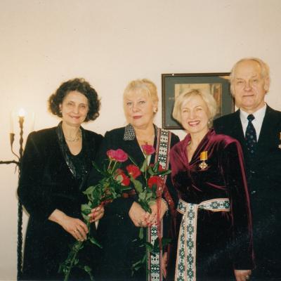 M. Diamandidi, N. Ambrazaitytė, S. Jonaitytė, V. Kuprys