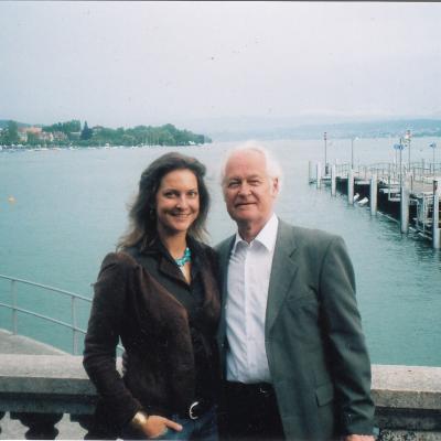 Su dukra Eugenija Šveicarijoje