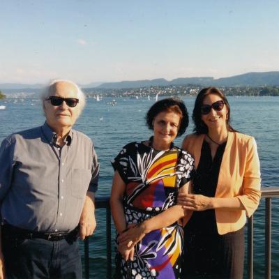 Šeima, atostogos prie Ciuricho ežero
