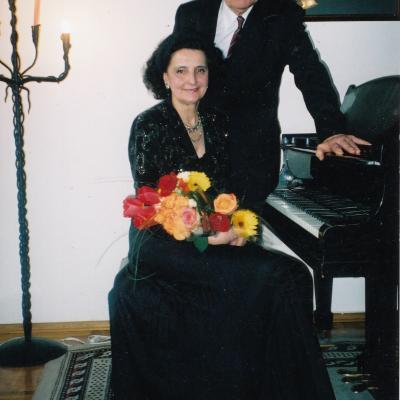 Melita ir Vincentas, gyvenimo ir scenos partneriai
