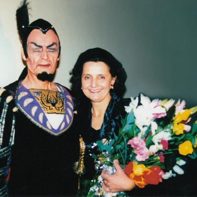 V. Kuprys - Mefistofelis su žmona Melita