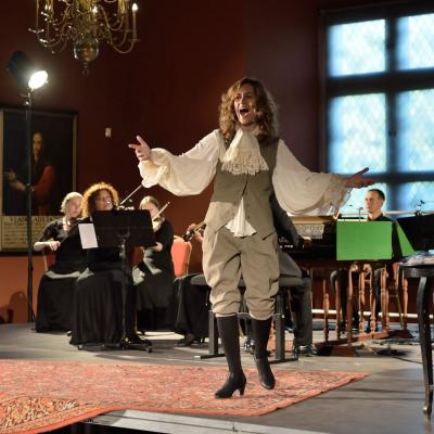 M. Vosyliūtė teatralizuotame XVIII a. itališkų arijų da capo koncerte