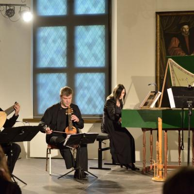 """Ansamblis """"Morgaine"""" į savo repertuarą įtraukė XVI–XVII a. Karaliaučiaus kompozitorių muziką"""