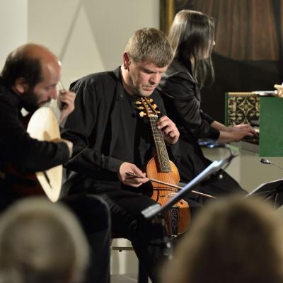 "Festivalio ""Banchetto musicale"" meno vadovas D. Stabinskas"