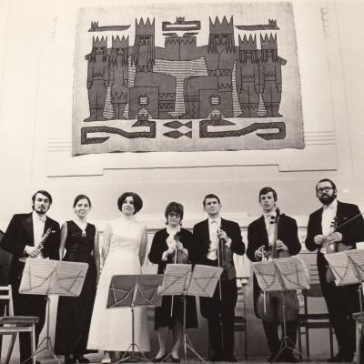 Su Vilniaus kvartetu, A. Žižiūno nuotrauka
