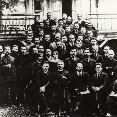 Krikščionių-demokratų partijos nariai 1920 m.