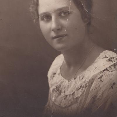 Mama Stasė Kiudulaitė 1923 m.