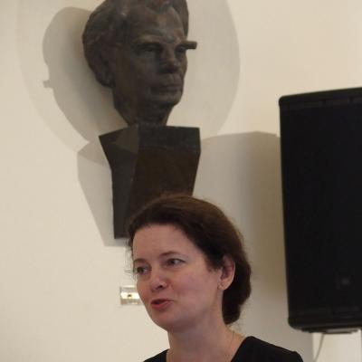 Konferencijos dalyvius sveikina LMTA prorektorė doc. dr. Judita Žukienė
