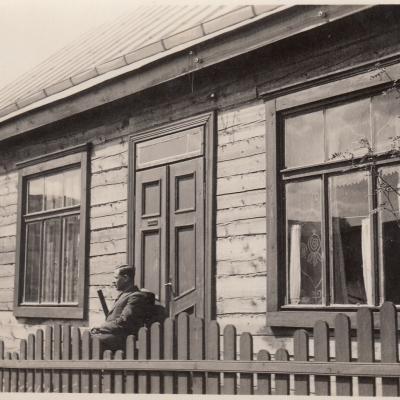 Namas Kaune, kuriame praleido laiką nuo 1935 iki 1949 m.