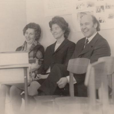 Su direktoriumi V. Sereika 1974 m.
