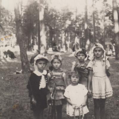 Vaikų šventės Panemunės šile 1938 m.